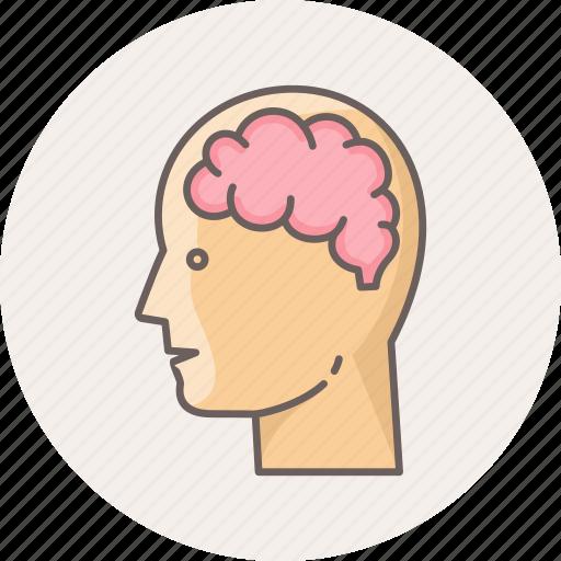 brainstorm, brainstorming, creativity, head, mind, thinking icon