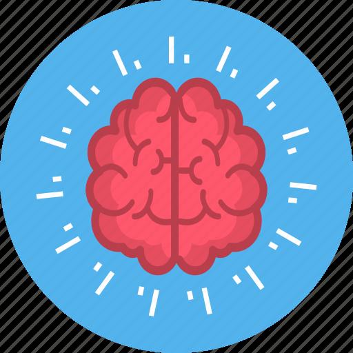 brain, mind, mindset icon