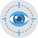 eye, search, seo, view, vision icon