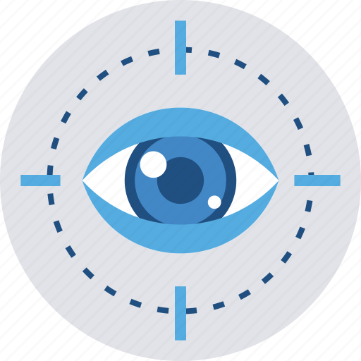 eye, search, seo, view, vision icon