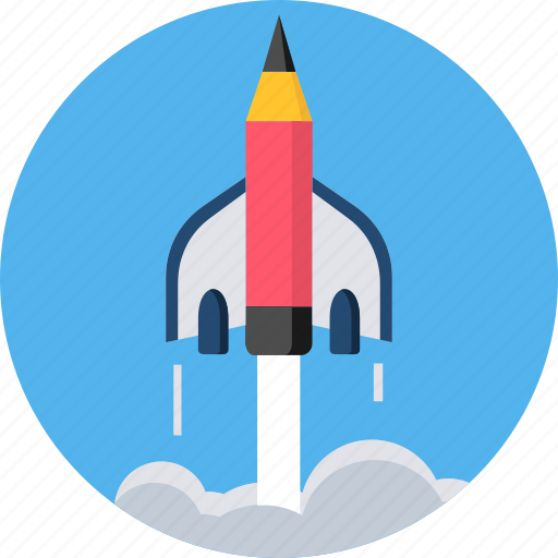 launch, missille, startup, syllabus icon