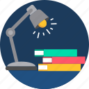 education, highlight, lamp, light, lights, study icon