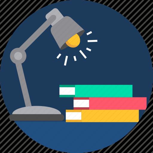 education, highlight, lamp, light, lights, study icon