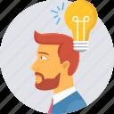 bulb, energy, idea, innovate, innovation, light