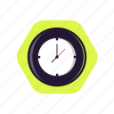 clock, education, lesson, school time, time icon