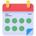 calendar, clock, date, schedule, time, timetable