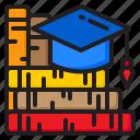degree, book, graduation, school, education