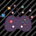 community, entertain, fun, game, joystick, recreation, relax icon
