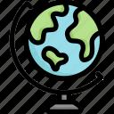 earth, education, globe, planet, world