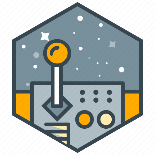control, education, science, space, steer icon
