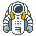 astronaut, protection, science, space, suit, travel icon