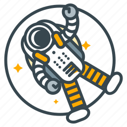 astronaut, education, explore, science, survival icon