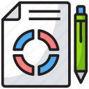 analytics, chart, diagram, statical report, statistics icon
