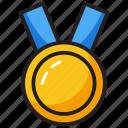 achievement, award, champion, gold medal, winner icon