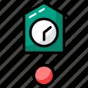 analog clock, clock, tick tock, timer, wall clock icon