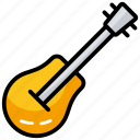 acoustic, electric guitar, guitar, instrument, music icon