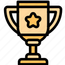 award, education, gold, trophy icon