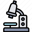 education, labs, micro, microscope icon