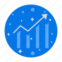 analytics, bar chart, dashboard, finance, report, statistics icon