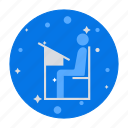 education, exam, learning, school, study room, study table icon