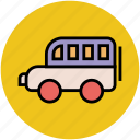 bus, mini bus, transport, van, vehicle, wagon icon