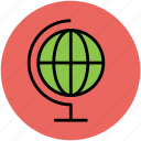 earth, global, globe, ground plan, table globe, world icon