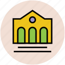 building, home, house, real estate, school, school building icon