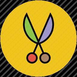 craft, scissor, shears, snip, trim cutter, trimming icon