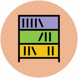 book, book shelf, books, encyclopedia, library, study icon