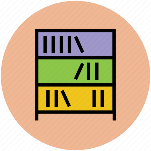 book, book shelf, books, encyclopedia, library, study icon