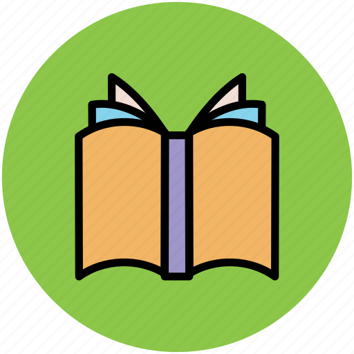 book, education, knowledge, novel, open book icon