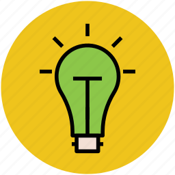 bulb, electric, electric bulb, electricity, light, light bulb icon