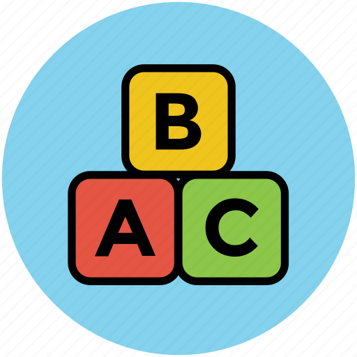 abc, abc block, abc read blocks, alphabet, block, blocks, cube, cubes icon