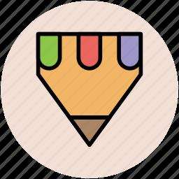compose, draw pencil, education, pencil, pencil point icon