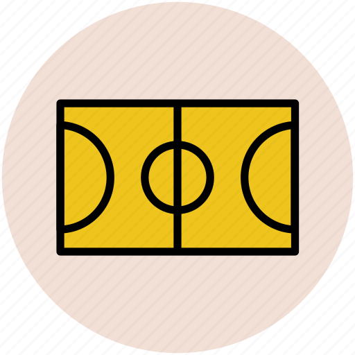football course, football ground, ground, play area, play ground icon