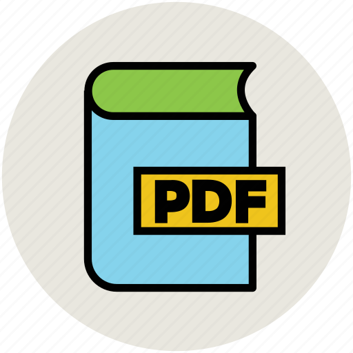 book, e learning, education, learning, pdf, pdf book, study icon