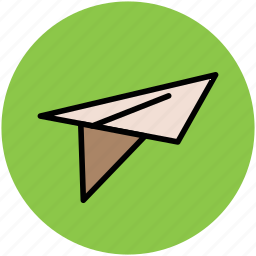 airplane, fly, fly paper jet, jet, paper plane, plane icon