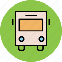 autobus, coach, transport, transportation, van, vehicle icon