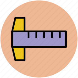 drafting tool, drawing ruler, geometry, measuring tool, ruler, scale icon