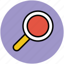 focus, magnifier, magnifying glass, search, view, zoom icon