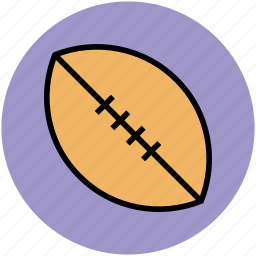 american football, football, game, play, rugby, sports equipment icon