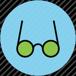 eyeglasses, eyewear, goggle, shades, specs, spectacles icon