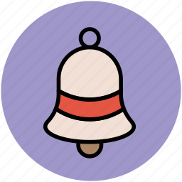 bell, church bell, handbell, school bell, temple bell icon