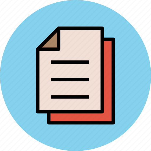 document, office docs, paper, text documents, text sheets icon