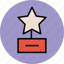 award, champion, prize, reward, star award, winner icon