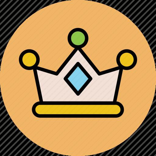 crown, headgear, king crown, kingdom, queen crown, royal crown icon
