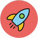 aircraft, missile, rocket, spacecraft, spaceship icon