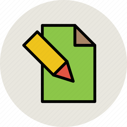 note sheet, paper, writing, writing paper, writing sheet icon