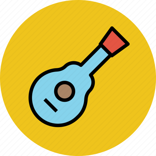 banjo guitar, cello, fiddle, frets guitar, guitar, ukulele icon