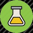 chemical sample, flask jar, jar, lab, lab equipment, laboratory icon